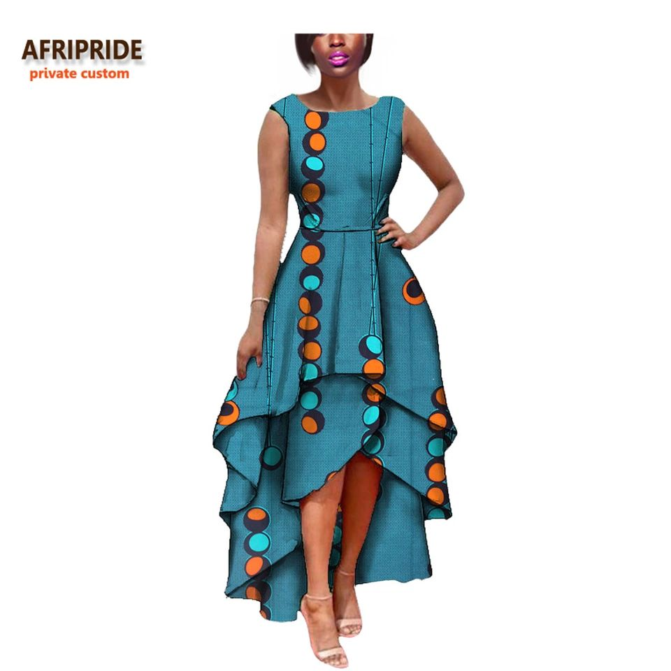 2017 hot sale african dress for women AFRIPRIDE private custom ...
