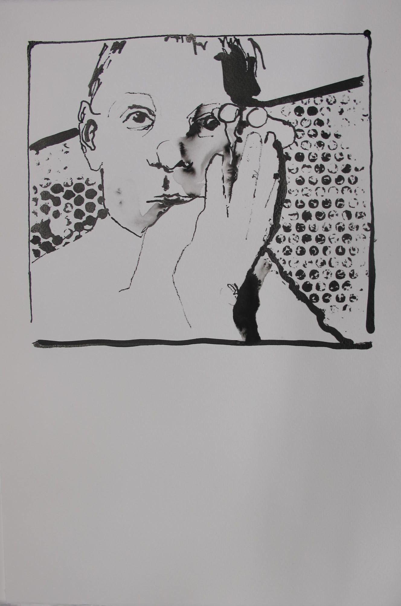 ABK Mortsel opdracht 8 vorm restvorm werk van Catherine