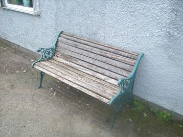 Wrough Iron Garden Bench Garden Bench Bench Used Stuff