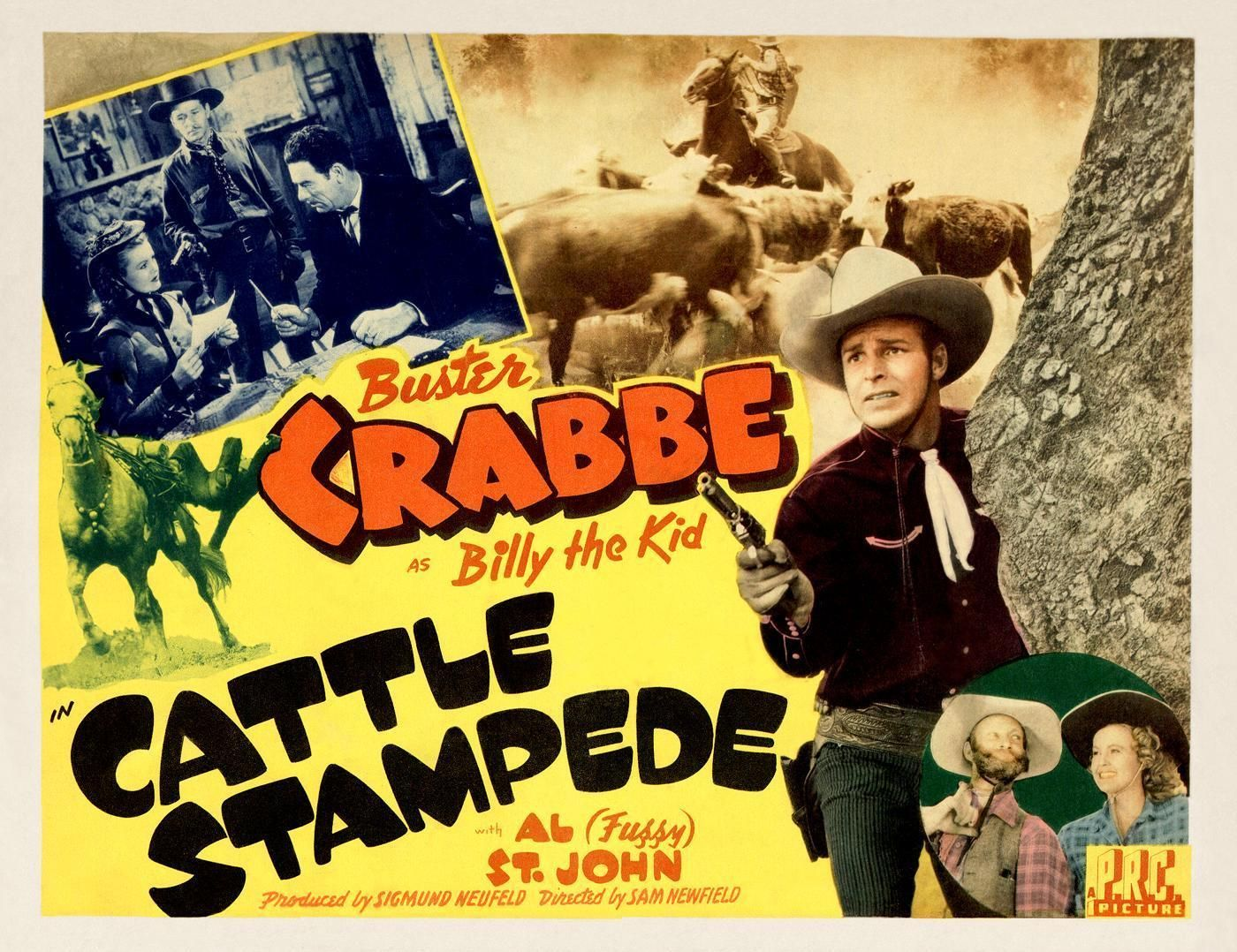 Cattle stampede 1943 classic movies b movie western