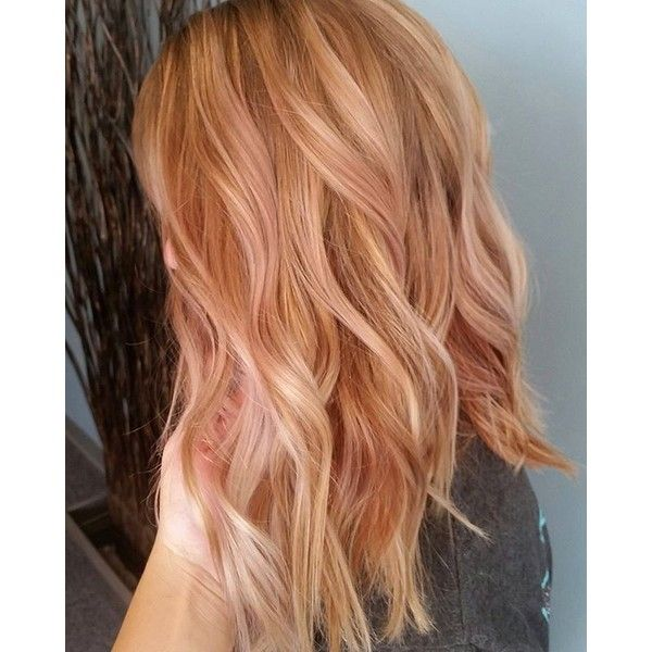 Strawberry Blonde Hair Color Liked On Polyvore Featuring Beauty