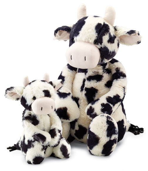 Pillow Pets Sweet Scented Pets Strawberry Milkshake Cow Strawberry Milkshake Scented Stuffed Animal Pl Cute Stuffed Animals Animal Pillows Animal Plush Toys