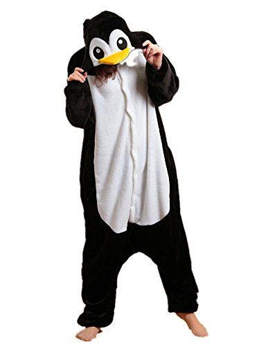 samgu manchot animal pyjama cospaly party fleece costume deguisement adulte unisexe m hauteur. Black Bedroom Furniture Sets. Home Design Ideas