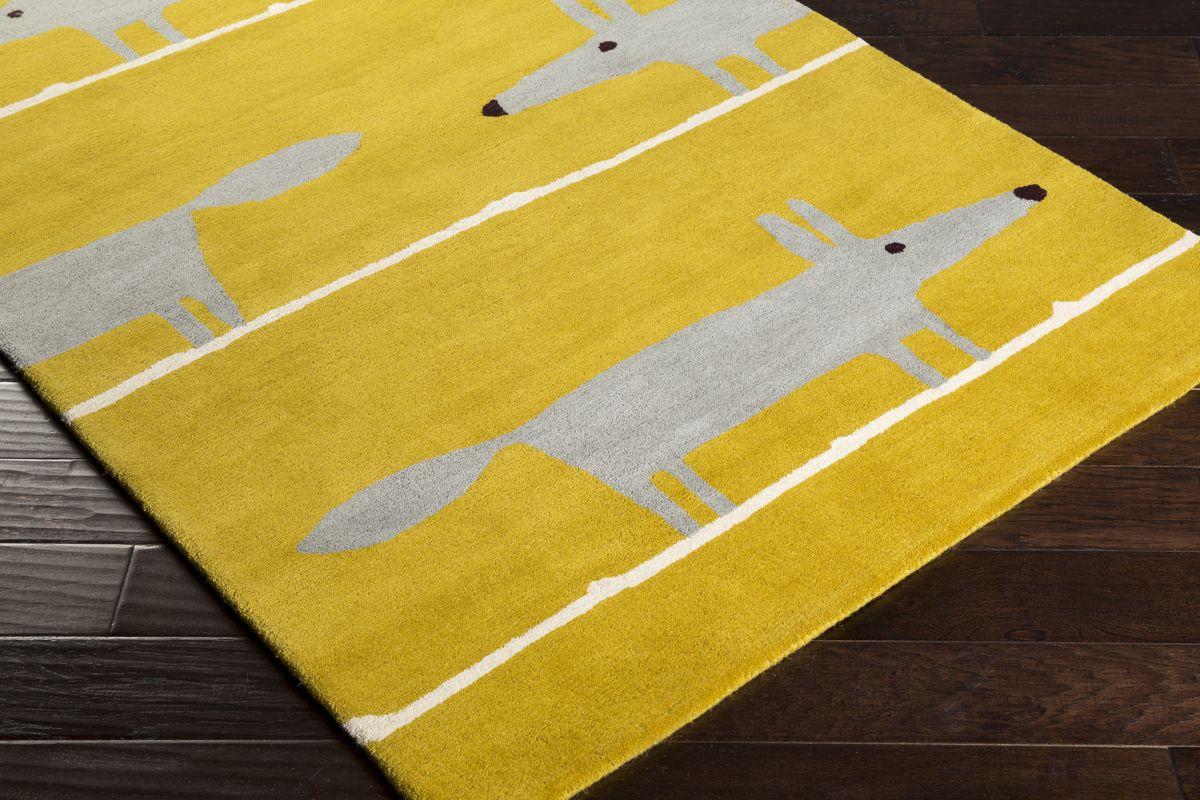25 Yellow Area Rugs Ideas