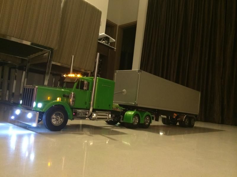 Amazing New King Hauler Project   RC Truck And Construction