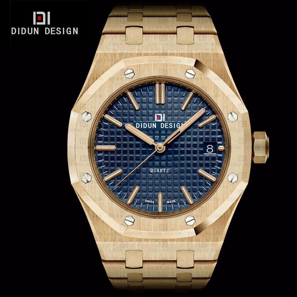 us 61 74 didun mens full steel luxury business watches men us 61 74 didun mens full steel luxury business watches men brand quartz watches men dress
