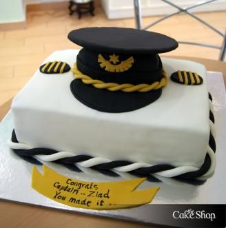 The Cake Shop Pilot Cake Graduation Pinterest Cake