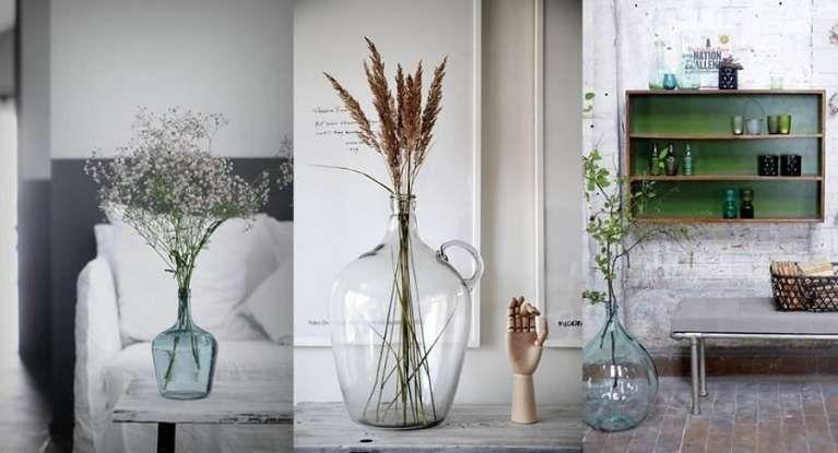 Idee Creative Casa : Damigiane decorative arredare con le damigiane tante idee