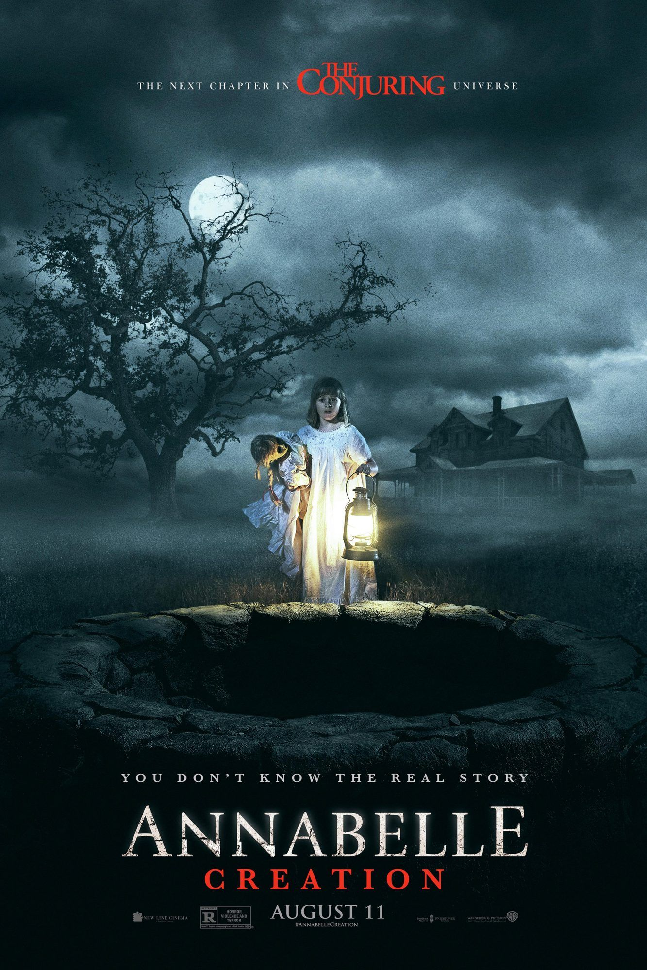 New Annabelle Creation Trailer Explores The Doll S Evil Roots Annabelle Creation The Conjuring Creation Movie