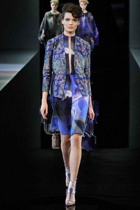 Giorgio Armani Spring 2014 Ready-to-Wear Collection