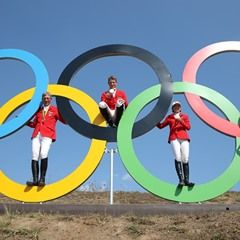 German Equestrian Jumping Team attend Press Conference