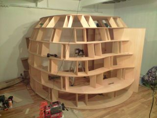 Build Your Own Bookcase Fort: Settle in for a Nerdy Siege | Forts ...