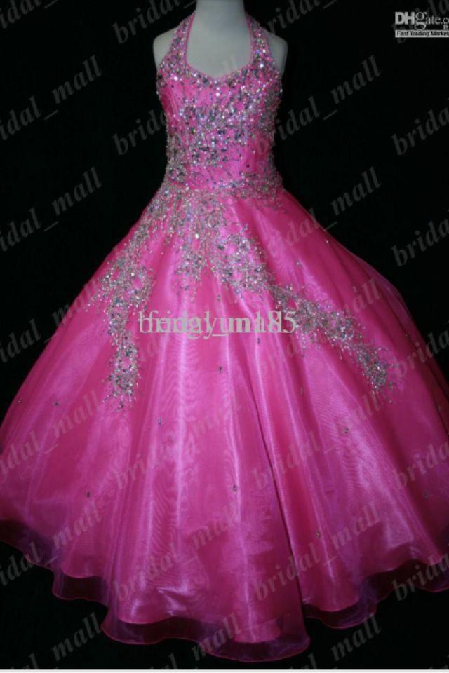 Dark pink pageant dress | The best | Pinterest