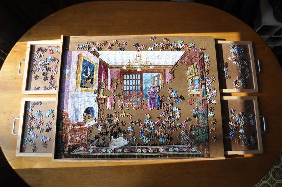 4 Drawer Puzzle Board   By Kram79 @ LumberJocks.com ~ Woodworking Community