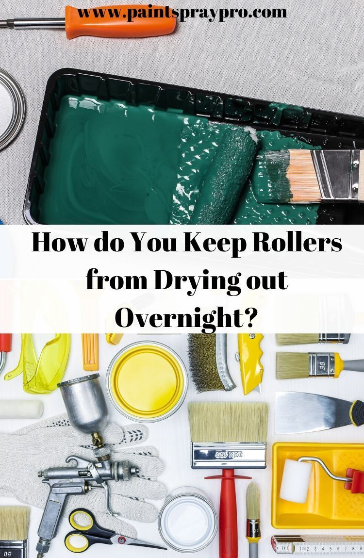 How to Clean Dried Paint Rollers in 2020 Cleaning paint