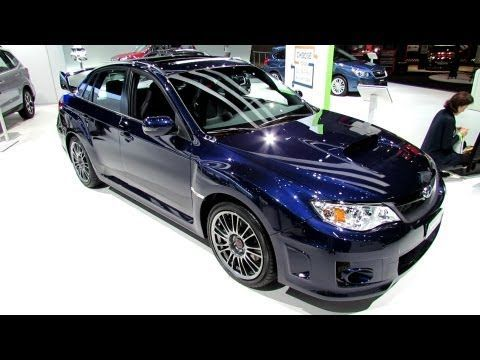 2013 Subaru Impreza Wrx Sti Exterior And Interior Walkaround 2012
