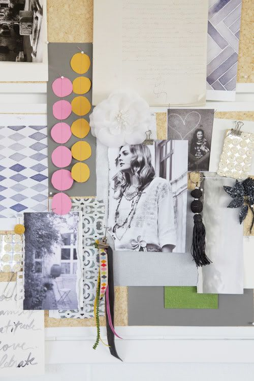 Color Me Pretty - Decor8 My Style Pinboard Pinterest Letras - paredes con letras