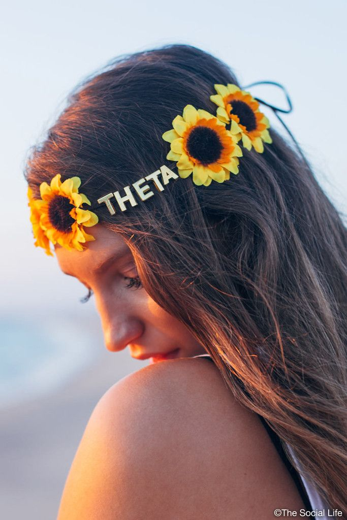 Kappa Alpha Theta Flower Crowns
