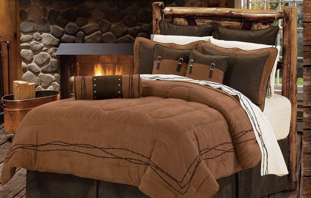 Best Western Barbed Wire Bedding Comforter Set Bed Comforters 400 x 300