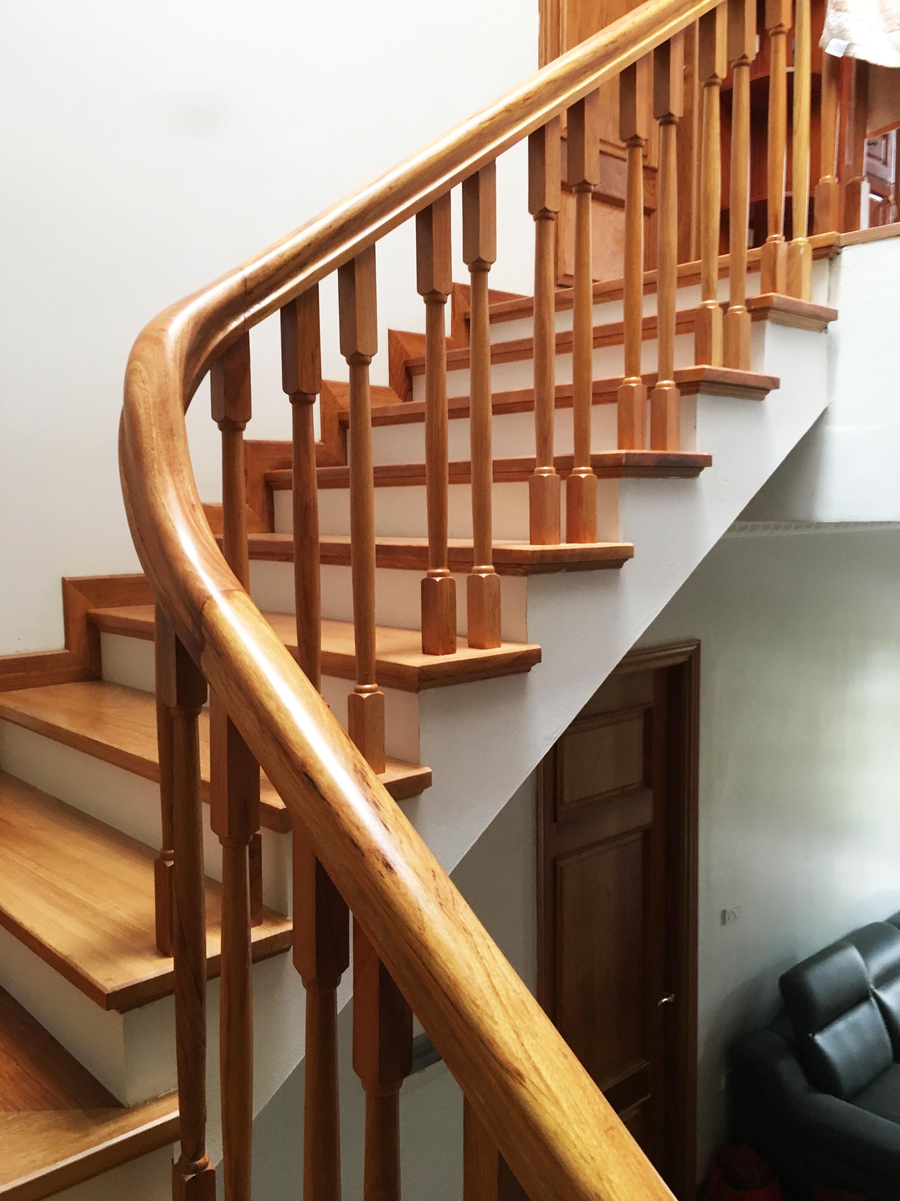 Tổng hợp các mẫu cầu thang gỗ đẹp nhất dành cho ngôi nhà