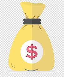 Dollar Sign Watercolor Paint Wet Ink Money Money Bag Logo Money Clip Transparent Background Png Clipart Hiclipart Money Bag Clip Art Gold Coins Money
