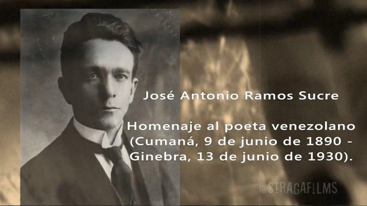 PROYECTO VERONAL VIDA Y OBRA DE JOSE ANTONIO RAMOS SUCRE