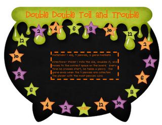 Fun Halloween math games