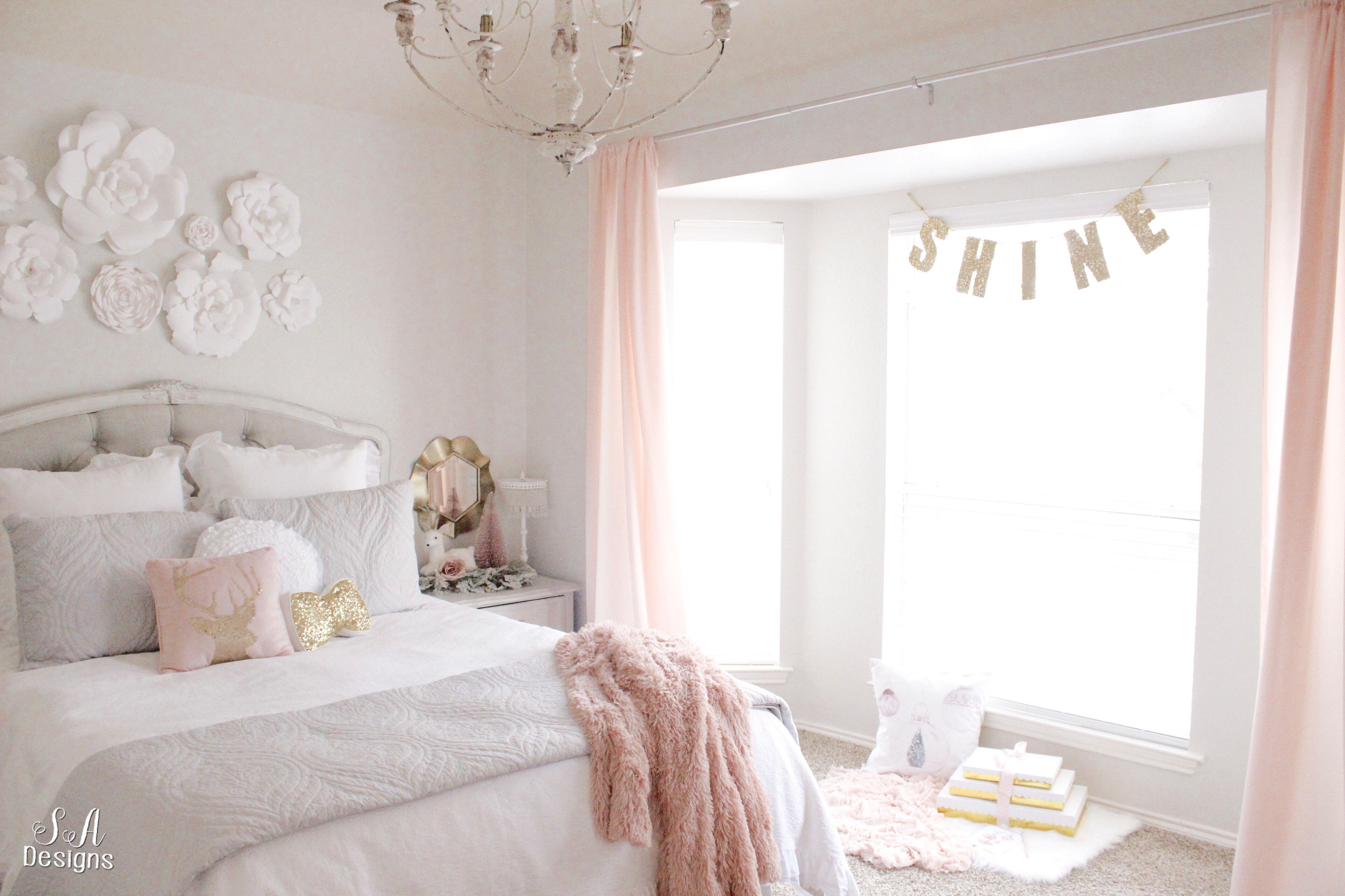 Tween Girl Bedroom Makeover Shabby Chic Bedroom Furniture