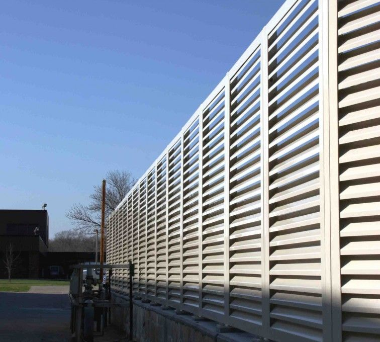 The American Fence Company - Louvered Fence Systems Fencing, 2224