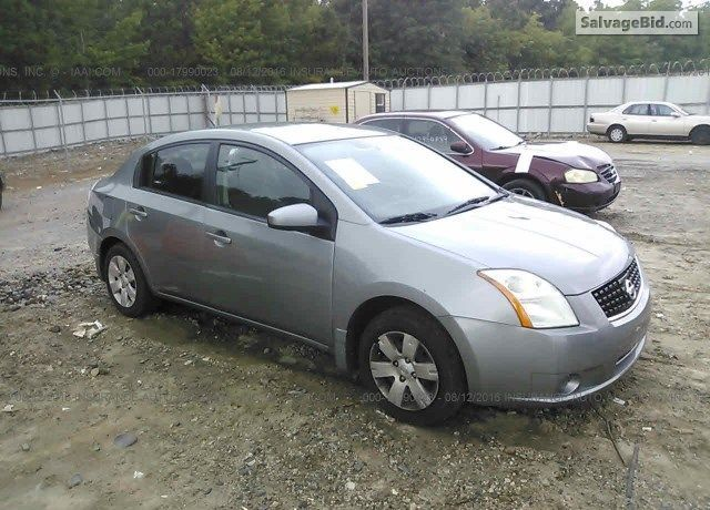 2009 Nissansentra For Sale At Salvage Cars Auction In Winder Ga