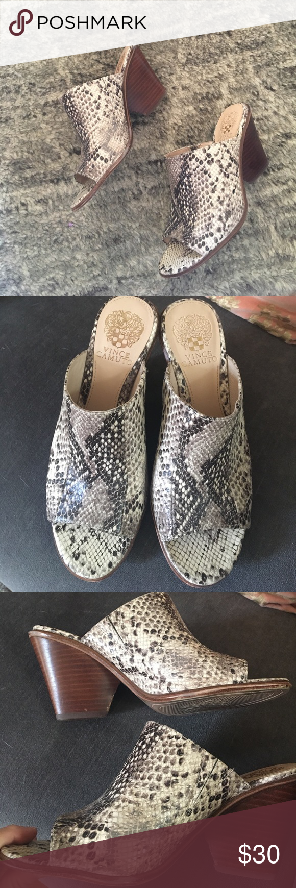 Vince camuto, Vince camuto shoes, Mules