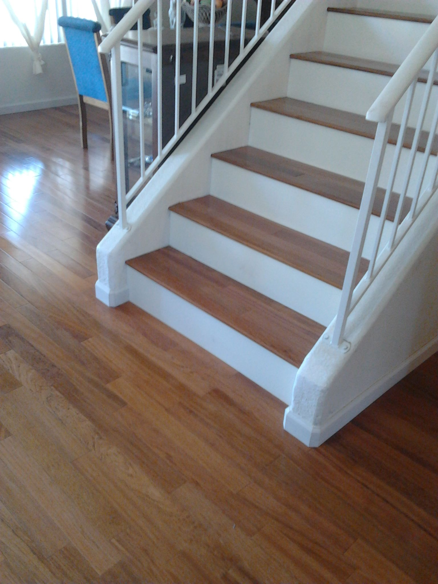 Best Brazilian Cherry Floors Stairs Imageiseverywhere Com 640 x 480