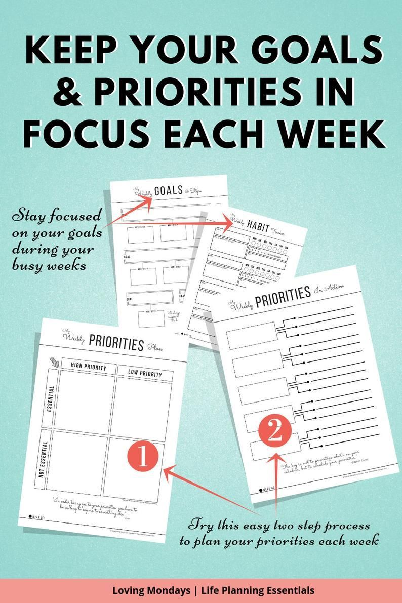Weekly Planner Printable Work Agenda To Do List Meal Planner Self Care Happy Planner Li Weekly Planner Printable Work Agenda To Do List Meal Planner Self Care Happy Plann...