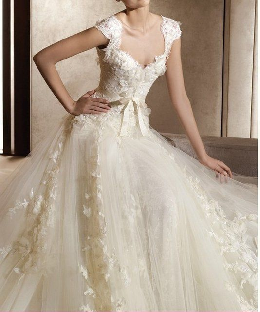 Fancy - Enzoani - Vera Wang wedding dress THIS IS IT!!!  This is THE dress!  now I just need a man to ask me to merry him so I have a reason to get/wear it!