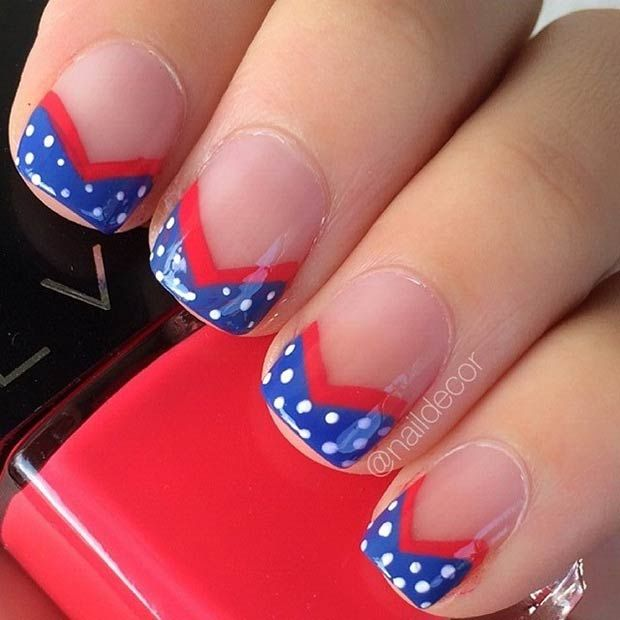 29 fantastic fourth of july nail design ideas manicure pedi and 29 fantastic fourth of july nail design ideas prinsesfo Choice Image