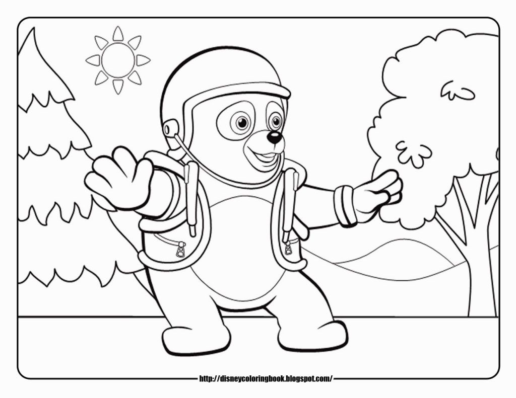 Special Agent Oso Coloring Pages | Coloring Pages | Pinterest ...