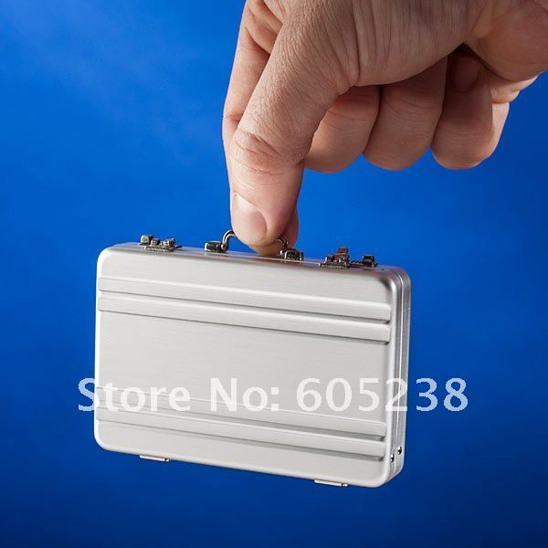 Free shipping mini briefcase business card case card holder in free shipping mini briefcase business card case card holder in colourmoves