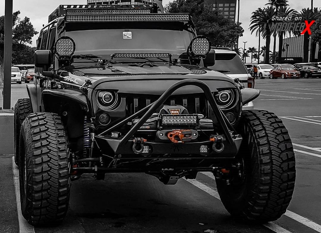 Custom Jeep Wrangler Unlimited Rubicon Jk C Obsidian Off Road In
