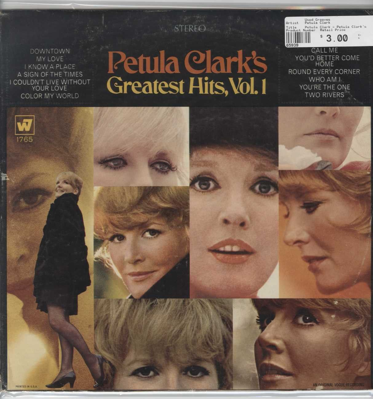 Petula clark petula clark s greatest hits