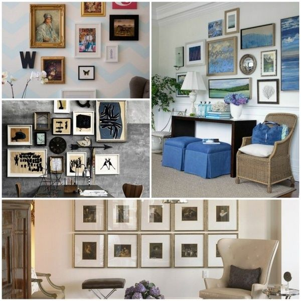 Wall Decoration Ideas U2013 A Wall Gallery Is A Real Eye Catcher In The Room