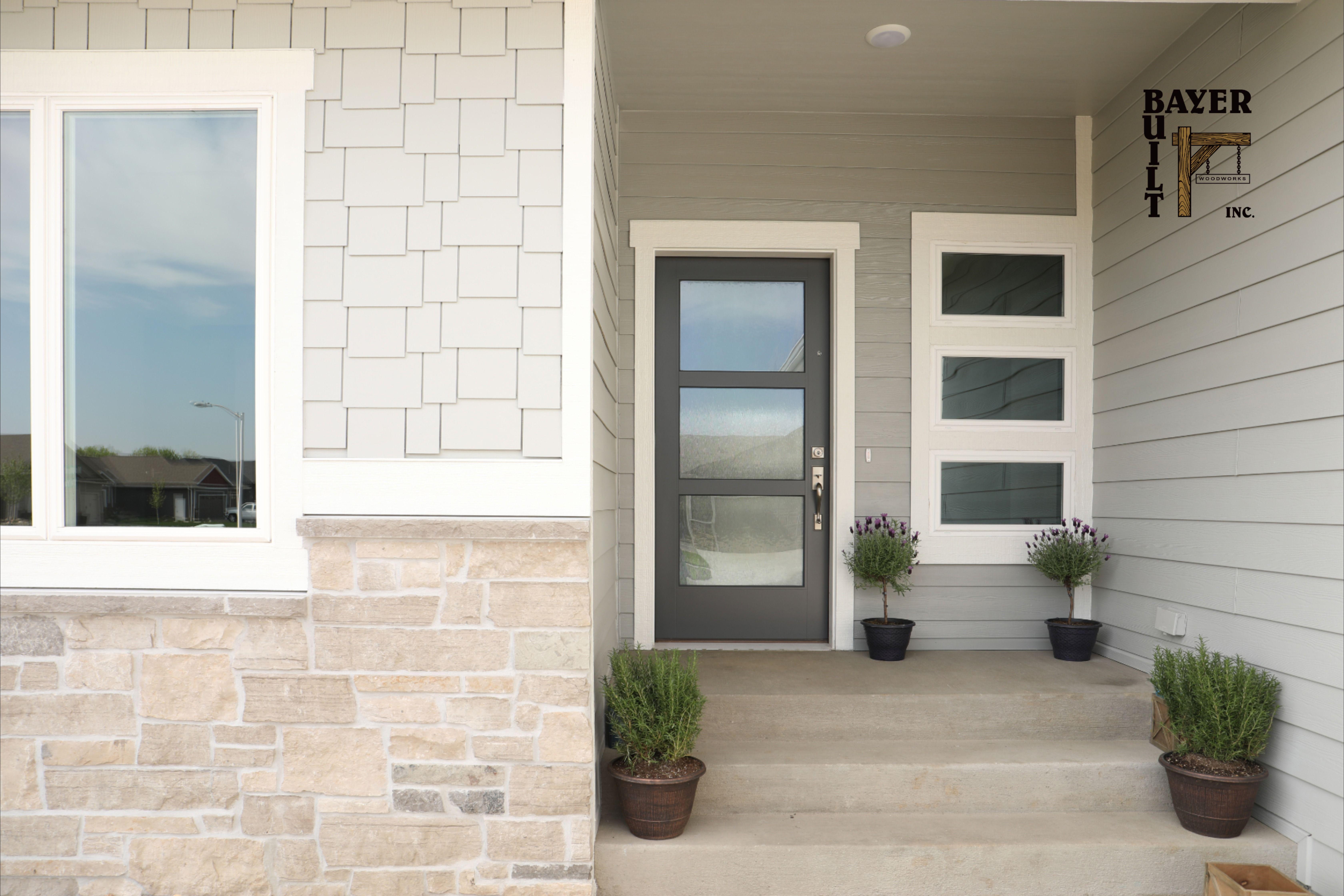 A Great Front Door Is The Best Welcome In 2020 Front Door Steps Front Doors With Windows Front Door