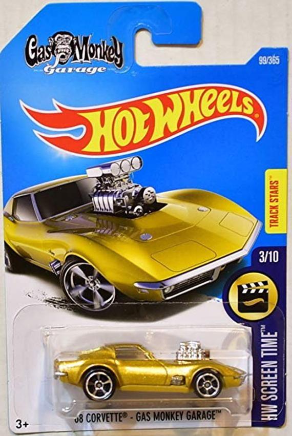 Hot Wheels '68 Corvette - Gas Monkey Garage - 2017 HW Screen Time Series #gasmonkeygarage