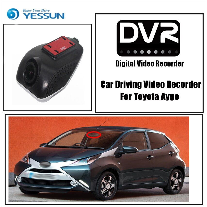 Dedicated Toyota Aygo Dash Cam Night Vision Best Price Car Parts