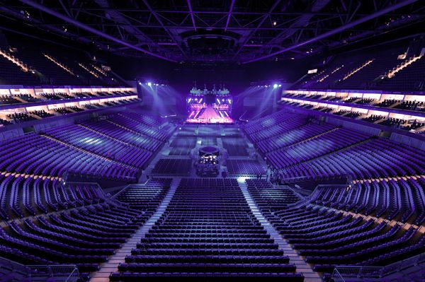 The O2 Arena London Seating Plan Empty Seats Places Around