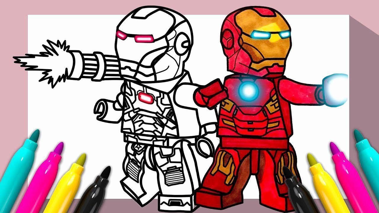 Lego Man Coloring Page Luxury Lego Iron Man War Machine Coloring Page Lego Coloring Pages Coloring Books Coloring Book Pages