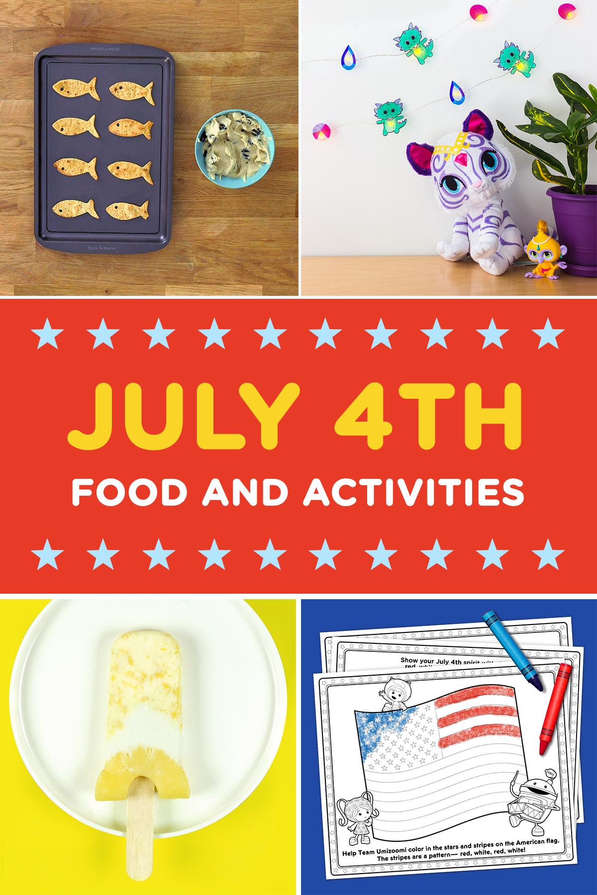 Nick Jr July 4th Activities