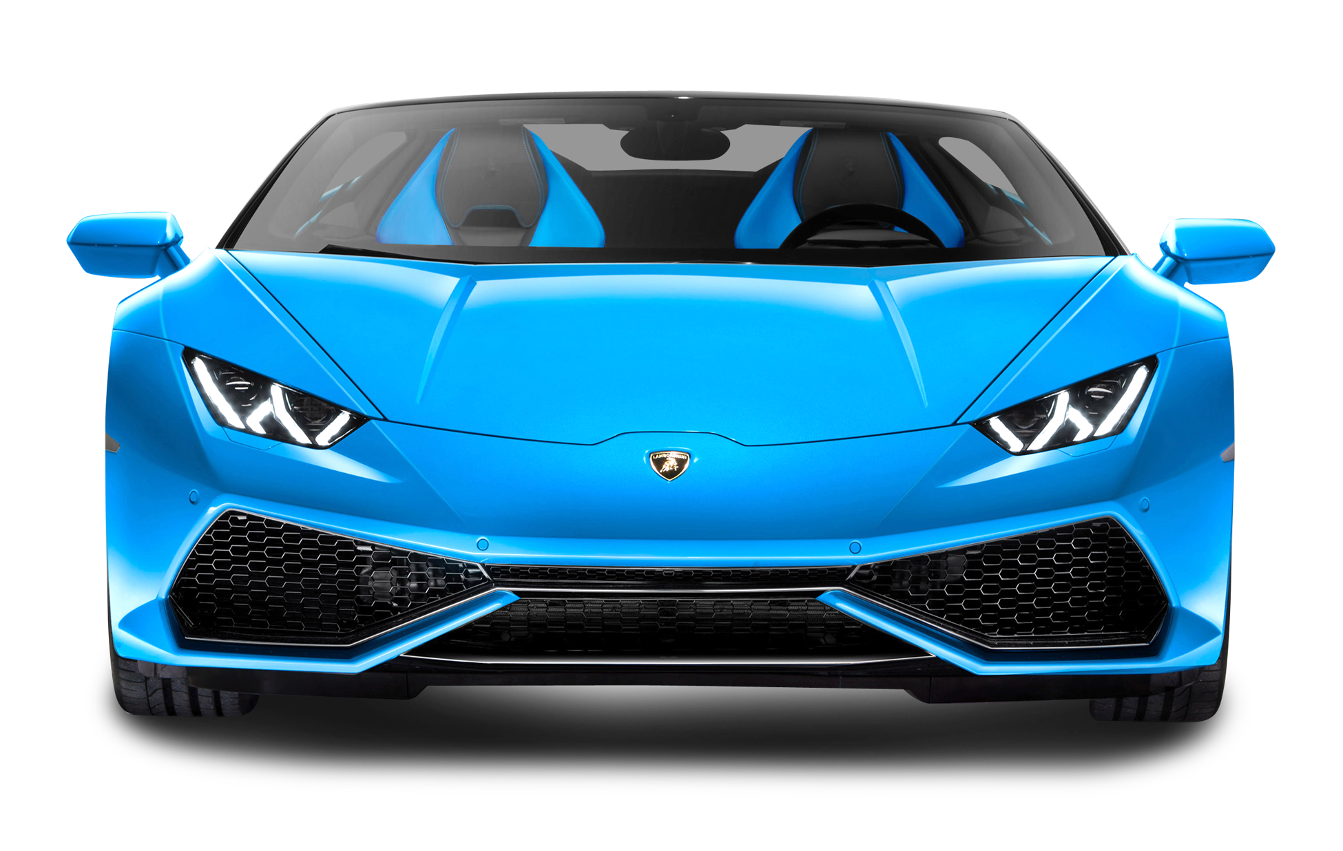 PNGPIX COM Blue Lamborghini Huracan LP 610 4