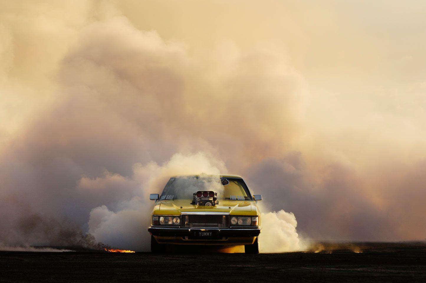 Simon Davidson Photographer - burnouts - 5