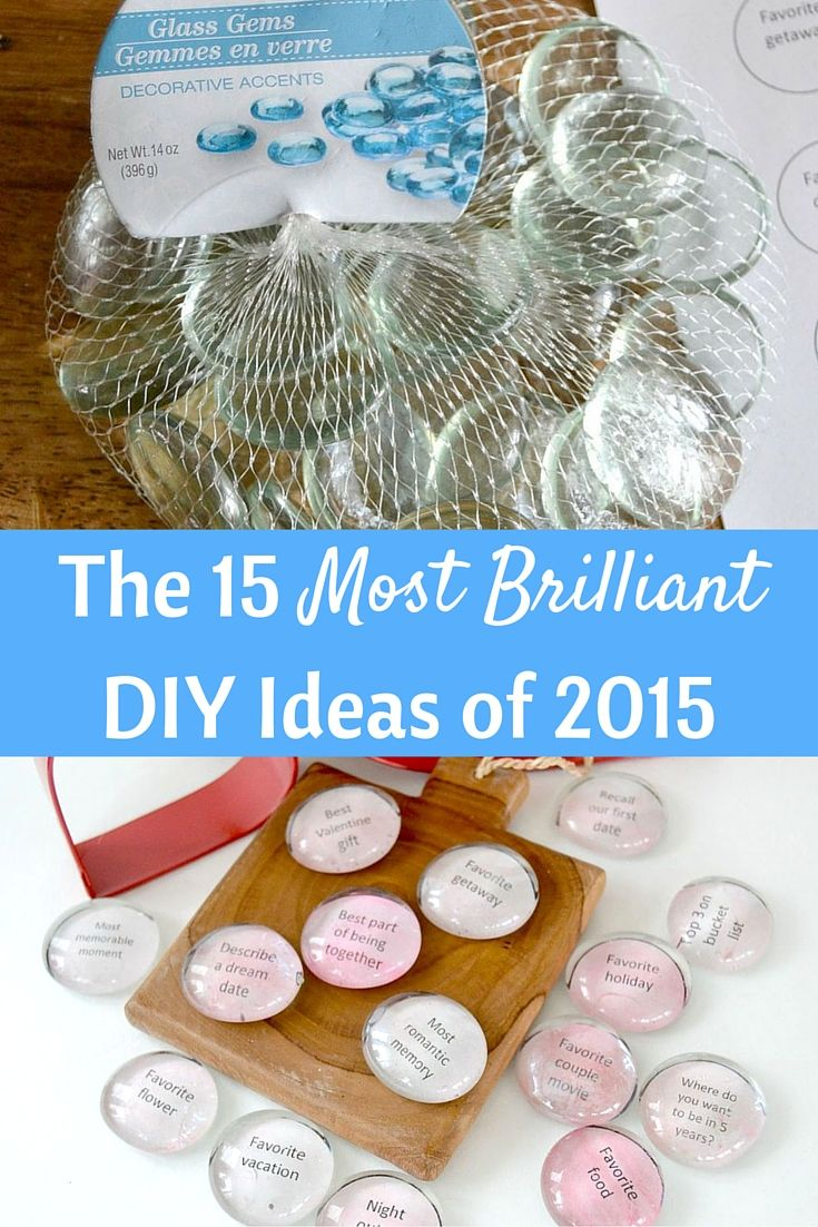 15 of the most brilliant DIY ideas of 2015
