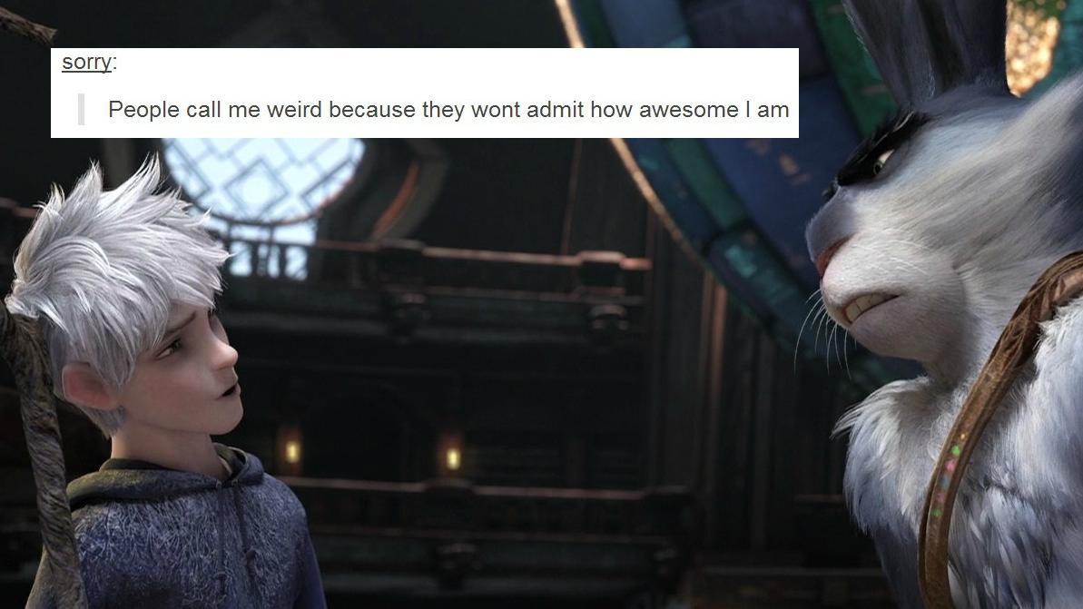 Funny Meme Text Posts : K my edit jack frost rotg rotgedit i jumped on the bandwagon text